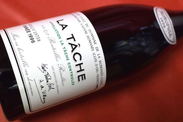 ドメーヌ・ド・ラ・ロマネ・コンティ / ラ・ターシュ [1996]【赤ワイン】