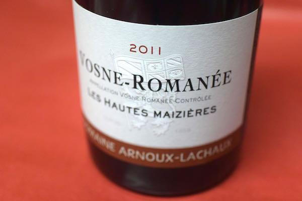 ドメーヌ・アルヌー・ラショ / ヴォーヌ・ロマネ・レ・オー・メジェール [2011]【赤ワイン】