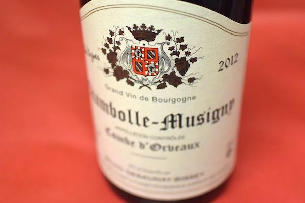 2012年は生産量が半減しているために貴重 ブルーノ デゾネ ビセイ シャンボール ミュジニー NEW売り切れる前に� 赤ワイン ヴィーニュ 人気商品 ドルボー コンブ ヴィエイユ 2012
