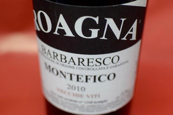 ロアーニャ・アジエンダ・アグリコーラ・イ・パリエーリ / バルバレスコ・モンテフィーコ ヴェッキエ・ヴィーティ [2010]【赤ワイン】