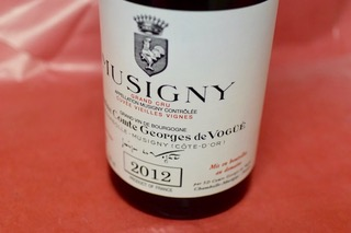 コント・ジョルジュ・ド・ヴォギエ / ミュジニー [2012]【赤ワイン】