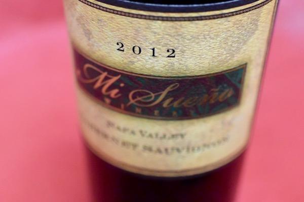 ミ・スエーニョ・ワイナリー / カベルネ・ソーヴィニョン・ナパ・ヴァレー [2012]【赤ワイン】