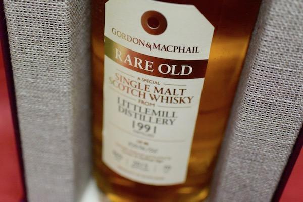 リトルミル 1991年 46% ゴードン&マクファイル ・レア・オールド【モルト・ウイスキー】