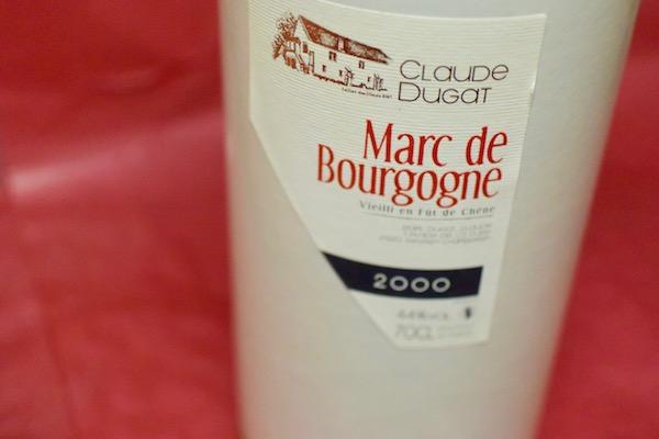クロード・デュガ / マール・ド・ブルゴーニュ [2000]