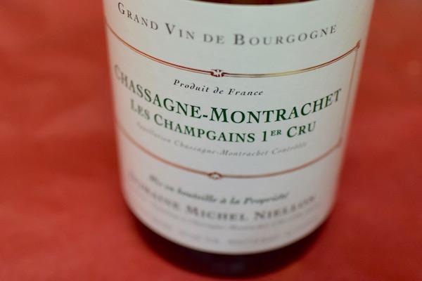 奉呈 2016年は数量が少なく非常に貴重 ドメーヌ ミッシェル ニーロン シャサニー モンラッシェ シャンガン プルミエ クリュ 爆買い新作 レ 2016 白ワイン