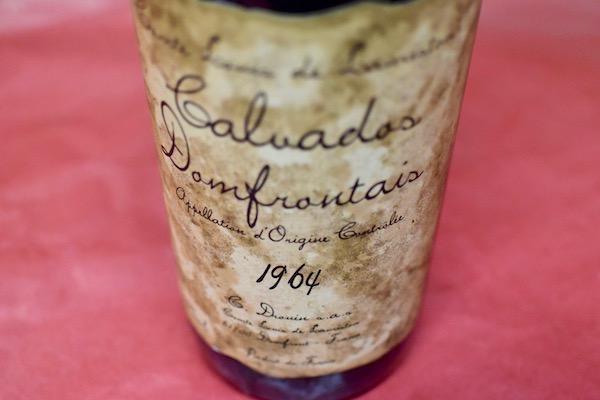 3本のみ 非常に貴重なカルヴァドス 注文後の変更キャンセル返品 ローリストン カルバドス 1964 カルヴァドス ドンフロンテ 定番