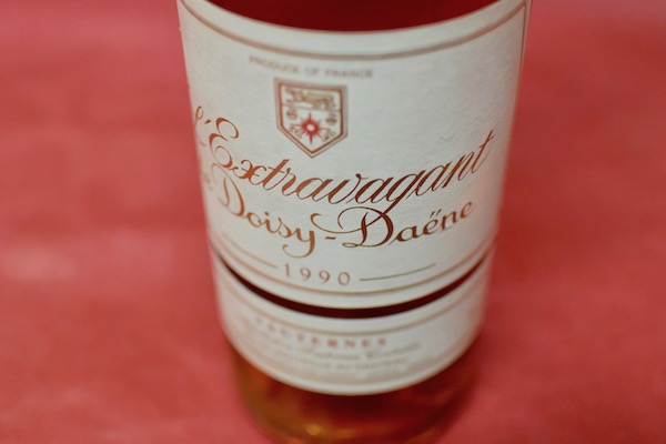 レクストラヴァガン・ド・ドワジー・デーヌ [1990] ハーフ・ボトル【甘口ワイン】