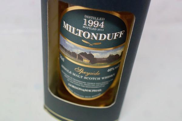 ミルトンダフ / 1994年 シングルカスク FOR JIS ゴードン&マクファイル 700ml 46%【モルト・ウイスキー】