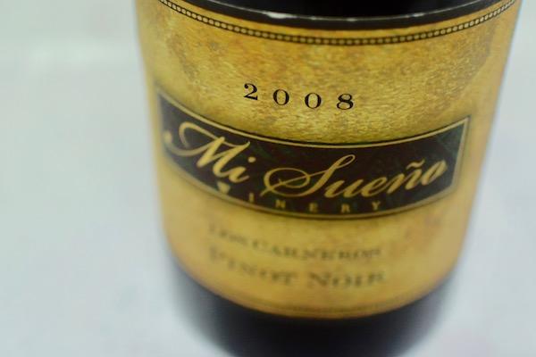 今時手に入らないバック ヴィンテージ入荷 倉 4本のみ ミ スエーニョ ワイナリー ルシアン 2008 リヴァー ヴァレー 送料無料 新品 ピノ ノワール 赤ワイン