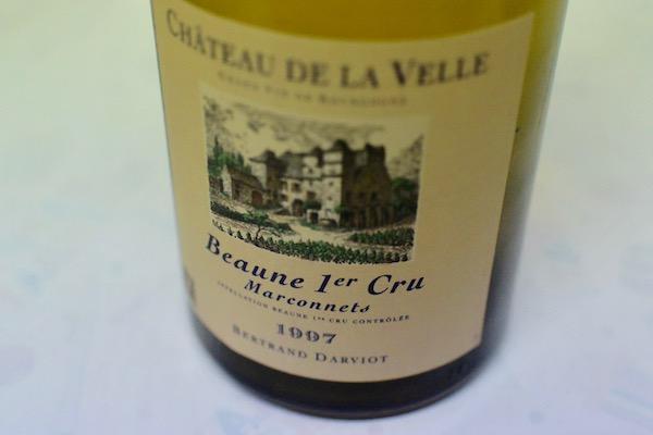 ベルトラン・ダルヴィオ / ボーヌ・プルミエ・クリュ・マルコネ [1997]【白ワイン】