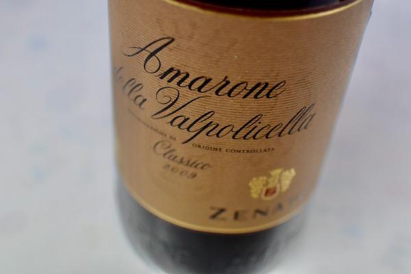 ゼナート/ アマローネデッラ・ヴァルポリチェッラ・クラシコ [2009]【赤ワイン】