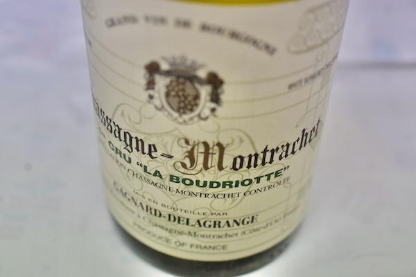 ドメーヌ・ガニャール・ドラグランジェ / シャサーニュ・モンラッシェ プルミエクリュ・ラ・ブードリオット [2006]【白ワイン】
