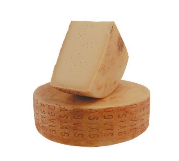 非常に状態の良いチーズ! アジアーゴ・メッツァーノ 100g(セミハード、牛)