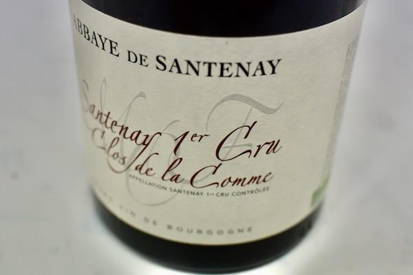 サントネで最も注目の作り手 市場 海外並行輸入正規品 アベイ ド サントネイ ルージュ プルミエ 2017 ラ クロ コム クリュ 赤ワイン