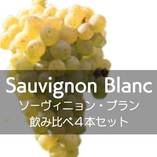ソーヴィニョン・ブラン飲み比べ4本セット【ワインセット】