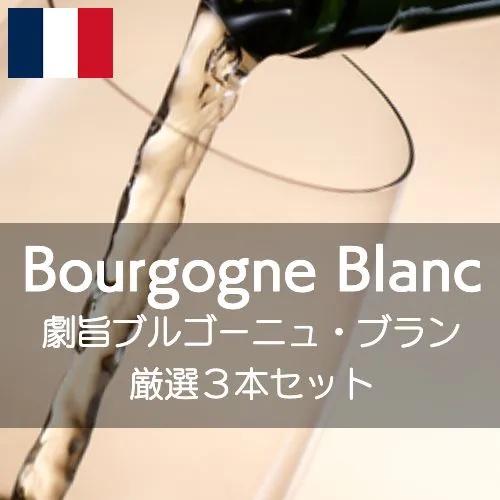 ワインホリックの厳選ワインセット 激旨ブルゴーニュ・ブラン3本セット!【ワインセット】