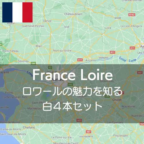 ワインホリックの厳選ワインセット フランス・ロワールの魅力を知る厳選白4本飲み比べセット【ワインセット】