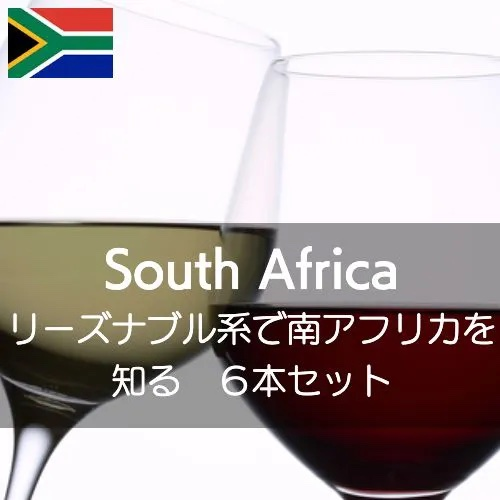 リーズナブル系ワインで南アフリカを知る【ワインセット】