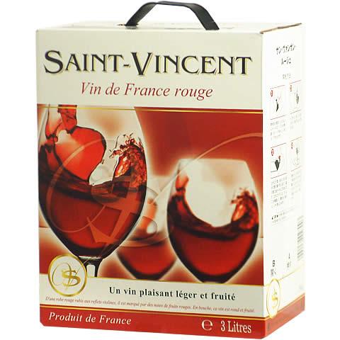 デイリーにピッタリの バースデー 記念日 ギフト 贈物 お勧め 通販 便利なお手軽BOXワイン BOXよりどり6個で送料無料 新着 サン ヴァンサン ルージュ バッグインボックス あす楽対応_関東 boxワイン 箱ワイン 000ml 3 ボックスワイン