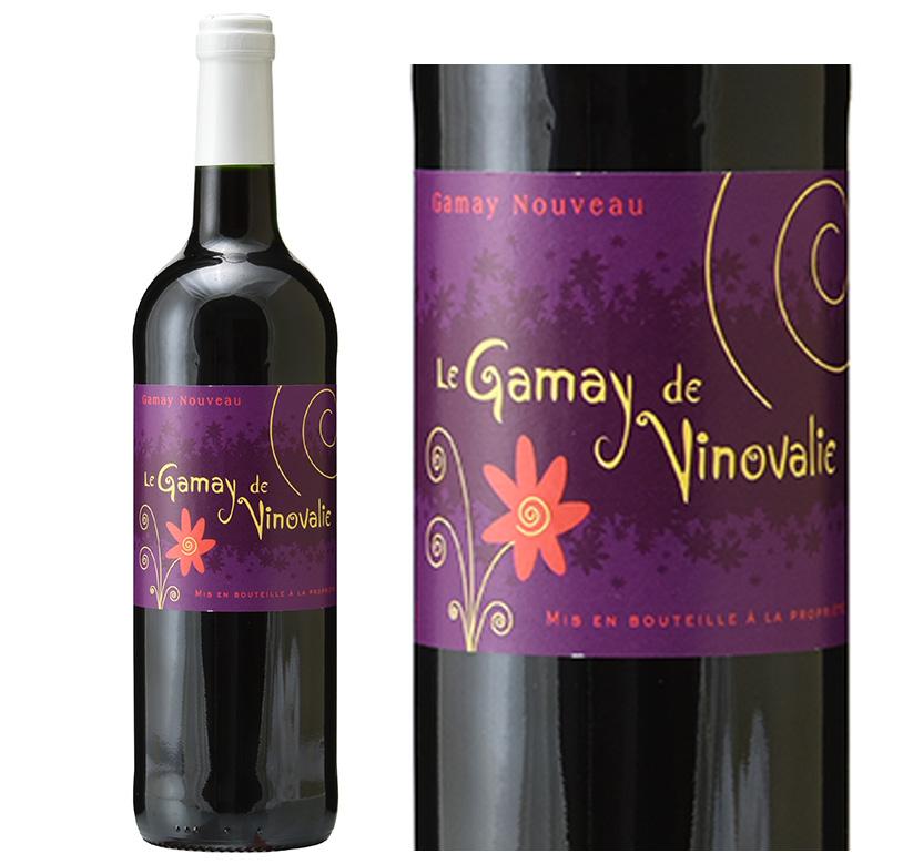 ル ガメイ ドゥ ヴィノヴァリー ヌーヴォー お気にいる お見舞い 赤ワイン 2021 フランス