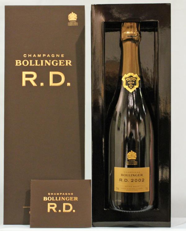 ボランジェ・アール・ディー[2002]Bollinger R.D専用 豪華箱入 RD