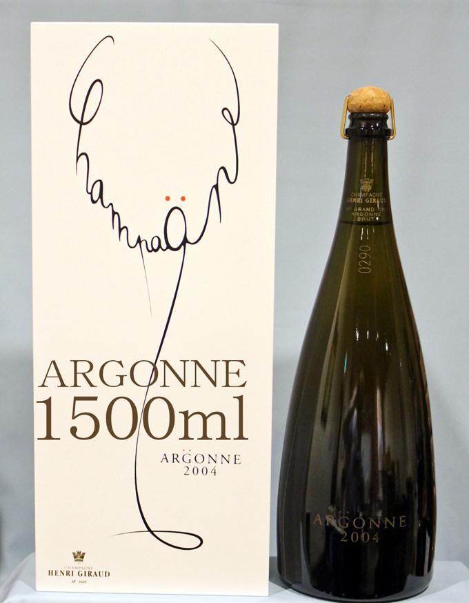 アンリジロー  HENRI GIRAUDフュ・ド・シェーヌ・グラン・クリュ・アルゴンヌ マグナム[2004] Grand Cru Fut de Chene d'Argonne 1500ml box