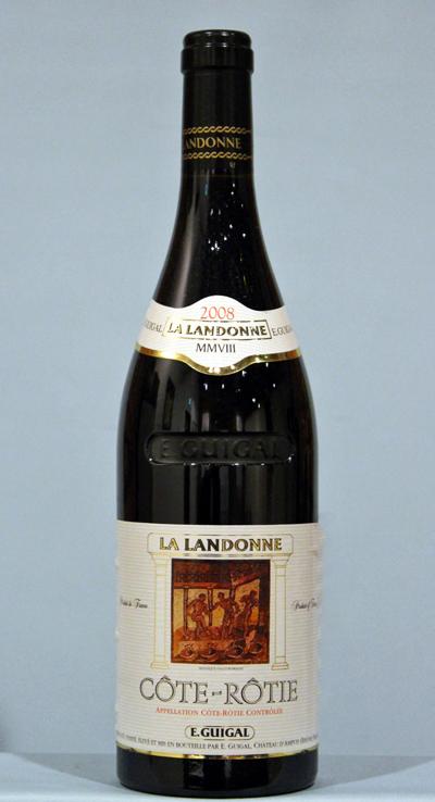 コートロティ ラ ランドンヌ[2008]Cote-Rotie la Landonne GUIGAL