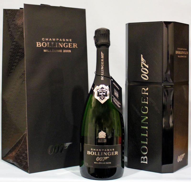 Champagne bollinger 007 millesime 2009