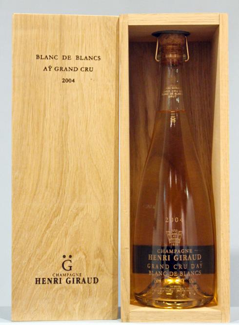 アンリジロー HENRI GIRAUDグラン・クリュ・フュ・ド・シェーヌ ブランドブラン[2004]Grand Cru Fut de Chene AY Blanc de Blancs
