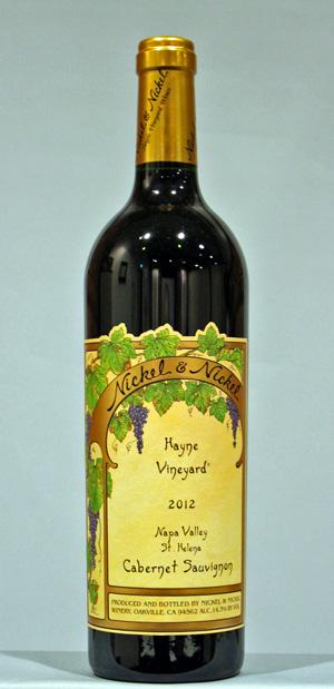 ニッケル&ニッケル ヘイン・ヴィンヤード[2012]ナパヴァレィNickel & Nickel Hayne Vineyard St. Helena NAPA VALLAY