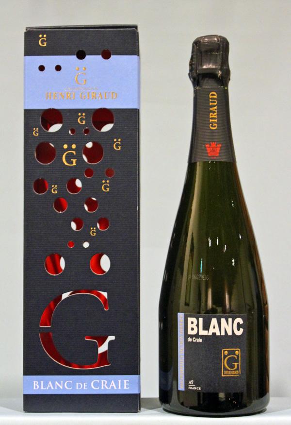 アンリジロー ブラン・ド・クレ(ブランドブラン) ブリュット[NV]Henri Giraud Blanc de Craie
