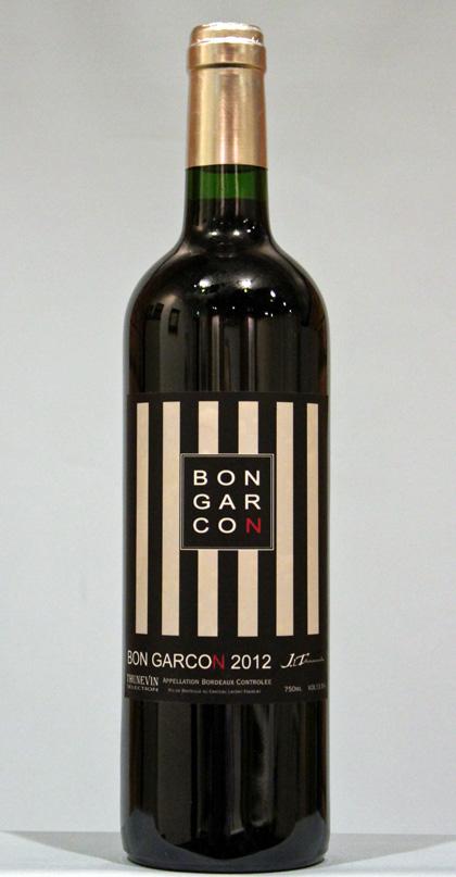 ボンギャルソン ボルドー ルージュ[2012] J-L テュヌヴァン セレクションBON GARCON Bordeaux Rouge J-L Thunevin selection