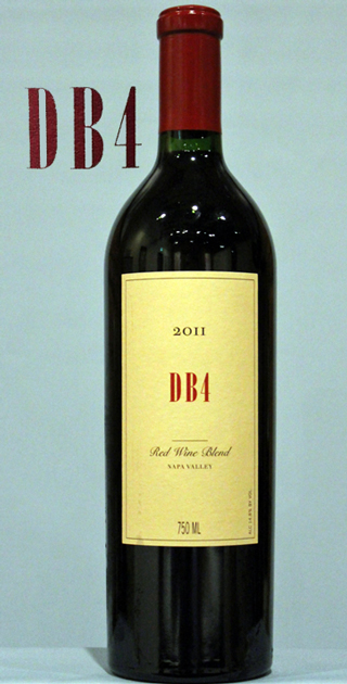 ブライアント ファミリー DB4 ディビーフォー[2011]DB4 Bryant Family Vineyard Estate Red Napa Valley