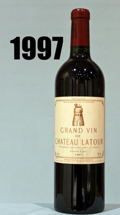 シャトーラトゥール [1997]ch Latour