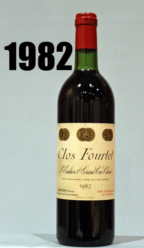 クロ フルテ サンテミリオン 第一特別級 B [1982]CLOS FOURTET Saint-Emilion Premiers Grands Crus Classes B