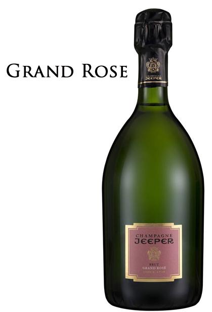ジーパー シャンパーニュ キュヴェ グラン ロゼ ブリュット[NV]JEEPER CHAMPAGNE Cuvee Grand Rose Brut 750ml