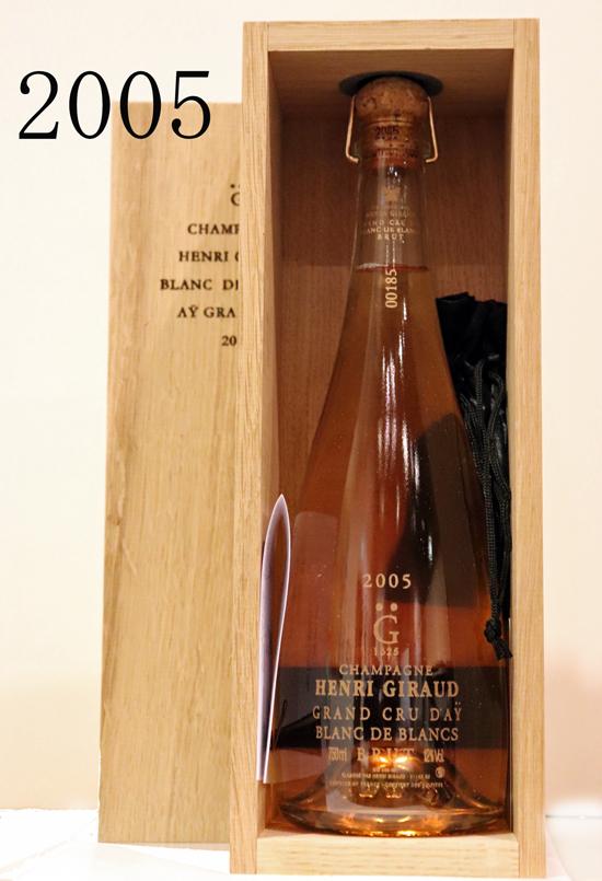 アンリジロー HENRI GIRAUDグラン・クリュ・フュ・ド・シェーヌ ブランドブラン[2005]Grand Cru Fut de Chene AY Blanc de Blancs 750ml
