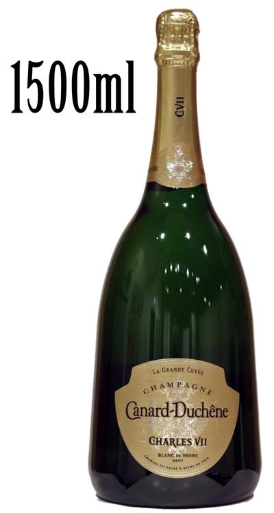 カナール デュシェーヌ シャルル 7世 ブラン ド ノワール[NV]Canard-Duchene champagne CHARLES VII BLANC DE Noirs BRUTディシェーヌ シャンパーニュ 1500ml