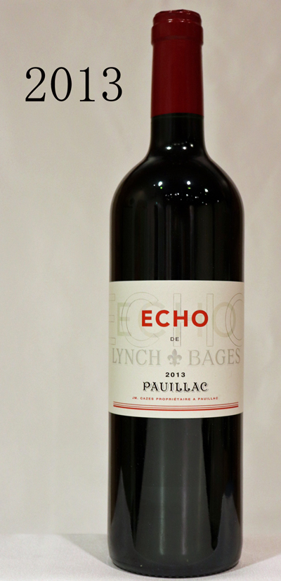 エコー・ド・ランシュ・バージュ[2013]ECHO DE LYNCH BAGES CH.LYNCH BAGES PAUILLAC 750ml