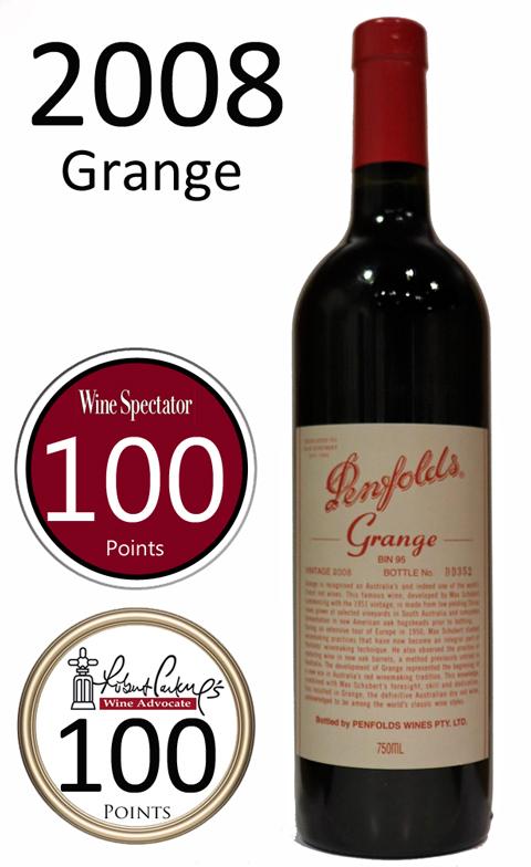 グランジ[2008]ペンフォールドペンフォールズ Grange Penfolds 750ml