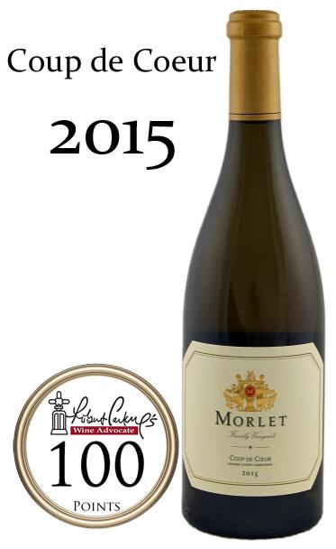 モルレ クー・ド・クール シャルドネ[2015]Morlet Family Vineyards Coup de Coeur Chardonnay 750ml
