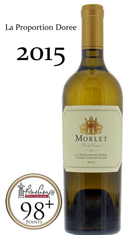 モルレ ラ・プロポーション・ドーレ[2015]Morlet Family Vineyards la proportion doree 750ml