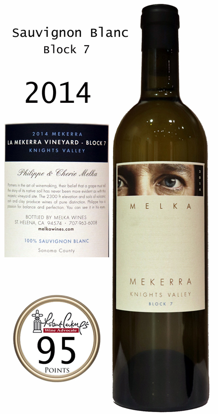メルカ メケラ ホワイト ソーヴィニヨン・ブラン ナイツ・ヴァレー[2014]MEKERRA White Sauvignon Blanc Knights Valley BLOCK7 MELKA WINES 750ml