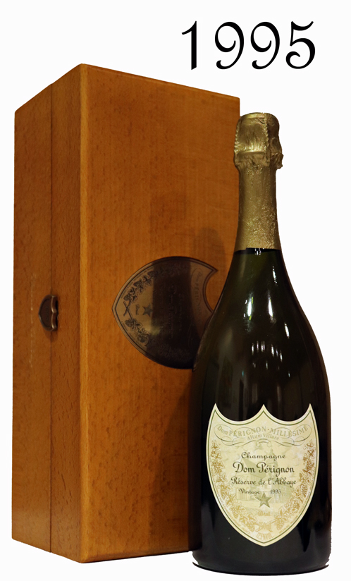 正規品 箱付き ドンペリニヨン・ レゼルブ・ド・ラベイ ゴールド[1995] ドン・ペリ Dom Perignon Reserve del'Abbaye Gold