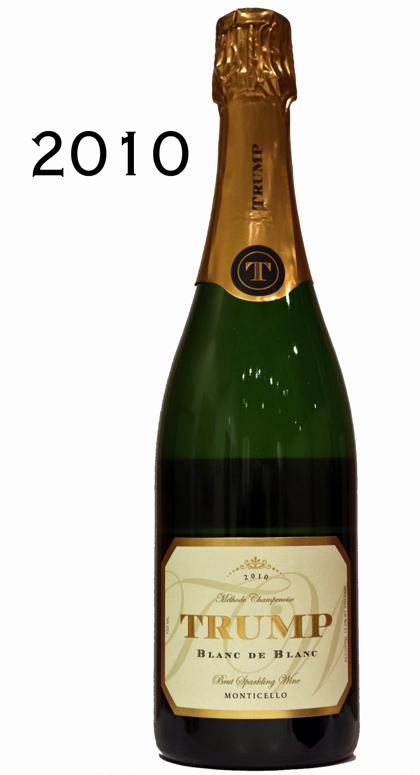 トランプワイナリー ブランドブラン[2010]スパークリングtrump winery SPARKLING BLANC DE BLANC 750ml