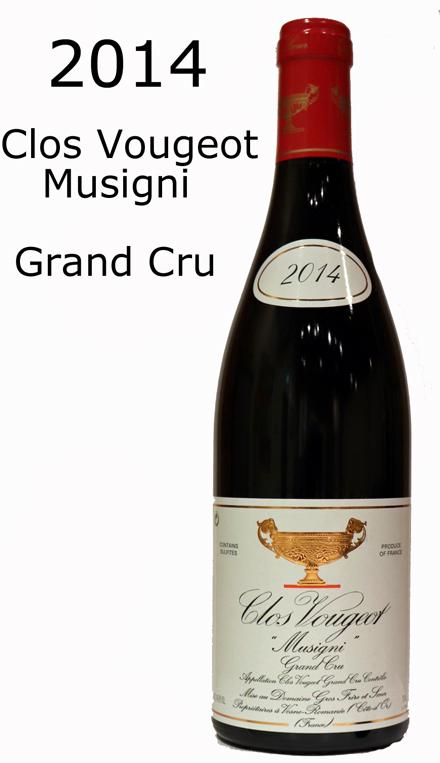 クロ・ヴージョミュジニーClos Vougeot Musigni[2014]グロ・フレール&スール Gros F&S グランクリュ