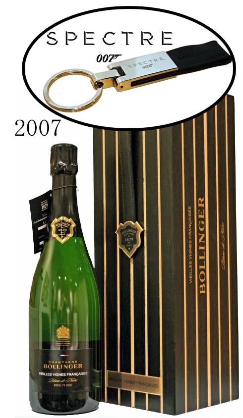 ボランジェ・ヴィエイユ・ヴィーニュ・フランセーズ ブラン・ド・ノワール[2007]Bollinger V.V Francaises Blanc de Noirs