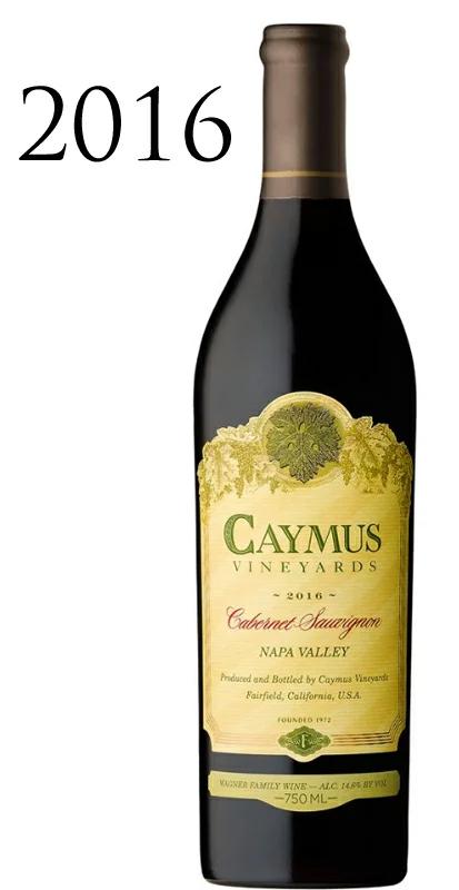 ケイマス・ヴィンヤーズ カベルネ・ソーヴィニョン ナパ・ヴァレー[2016]Caymus Vineyards Cabernet Sauvignon Napa Valley