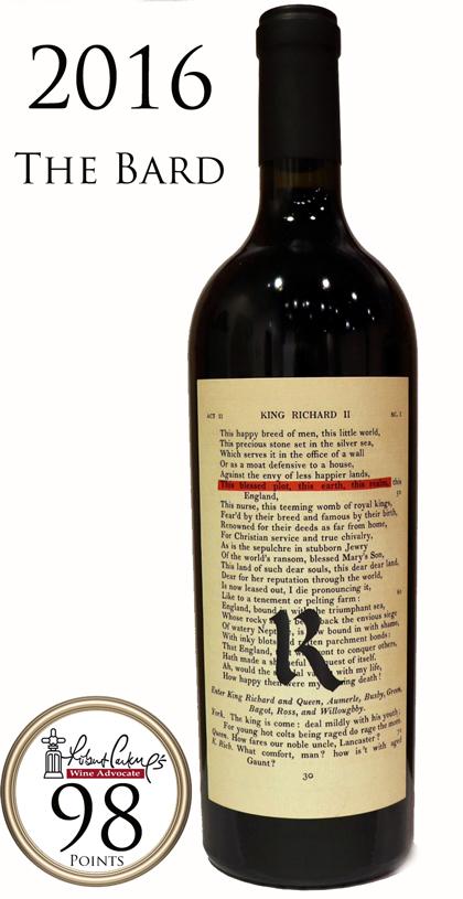 レアム ザ・バード レッドワイン ナパ・ヴァレー[2016]The Bard Napa Valley Red Wine Realm Cellars