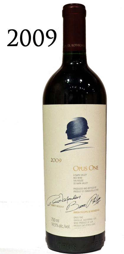 オーパスワン [2009]Opus One Napa 750ml